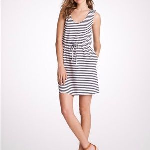 J. Crew | Maritime V Neck Dress Striped Nautical